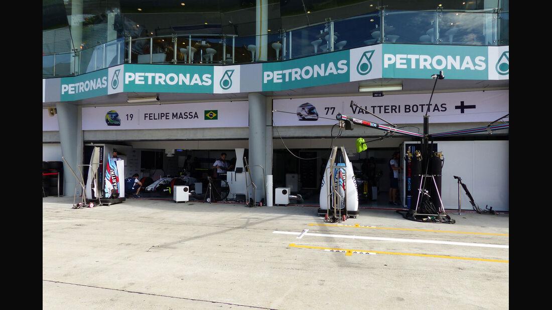 GP Malaysia - Williams - Formel 1 - Freitag - 27.3.2015