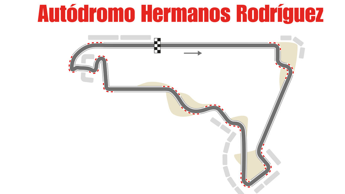 GP Mexiko - Formel 1