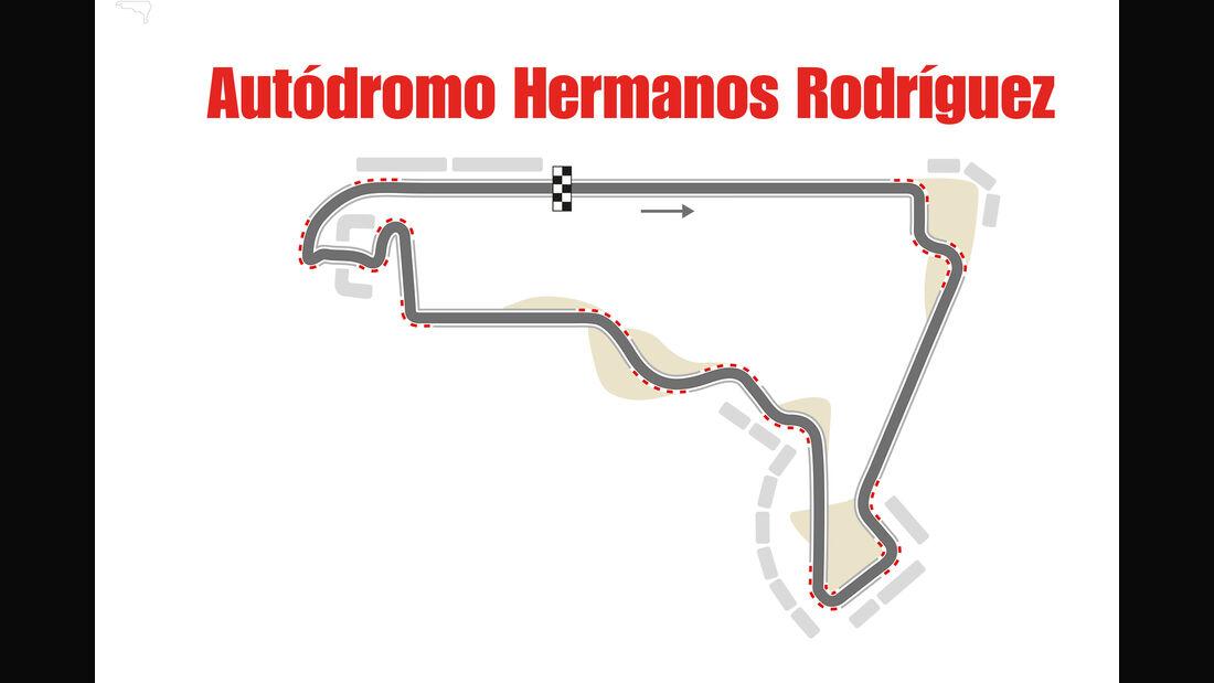GP Mexiko - Formel 1