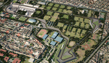 GP Mexiko - Streckenlayout