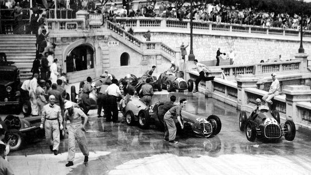 GP Monaco 1950 - Unfall