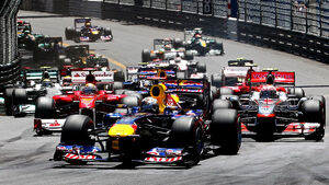 GP Monaco 2011 Start