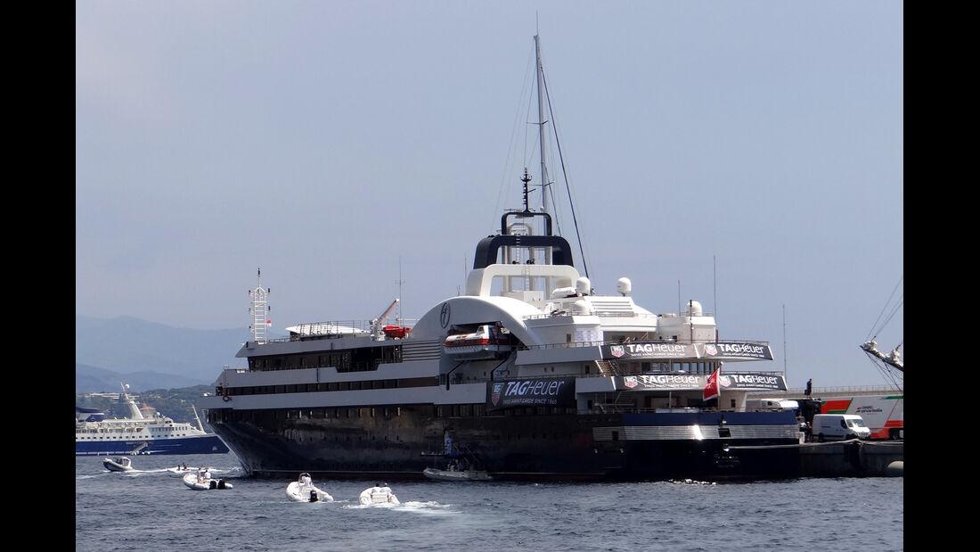 GP Monaco 2012 Hafen Yachten Boote