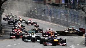 GP Monaco 2012 Start