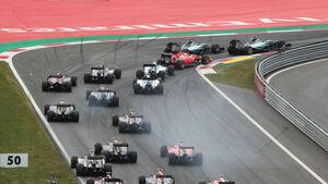 GP Österreich 2015 - Formel 1 - Start - Sonntag - 21.6.2015