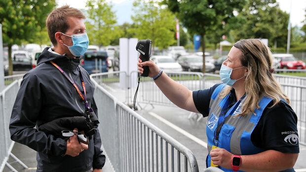 GP Österreich 2020 - Spielberg - Formel 1 - Temperatur-Check