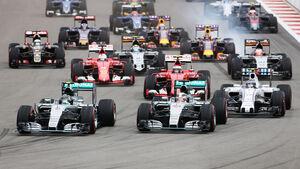 GP Russland 2015 - Start - Sochi