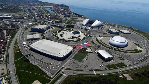GP Russland - Sotschi - Luftbild