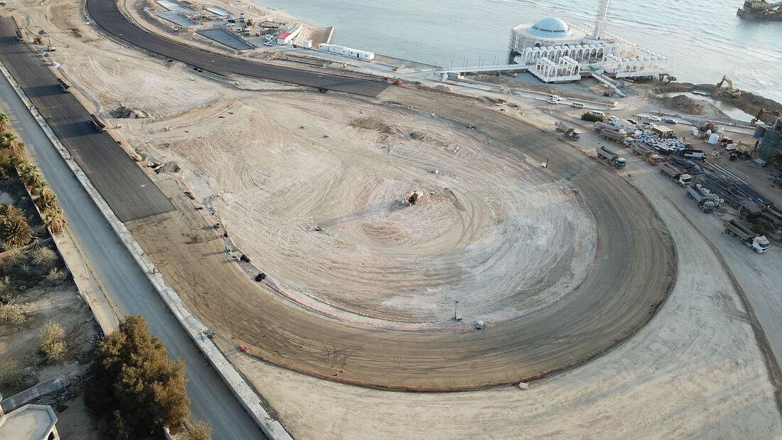 GP Saudi Arabien - Jeddah Circuit - Baustelle - 2021