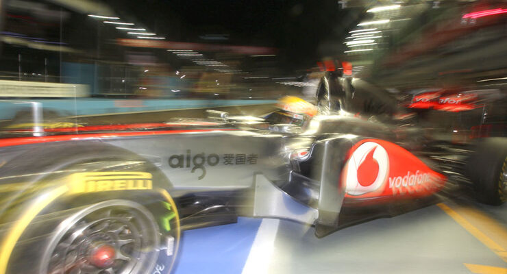 GP Singapur 2011 Lewis Hamilton