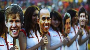GP Singapur 2011 Rennen