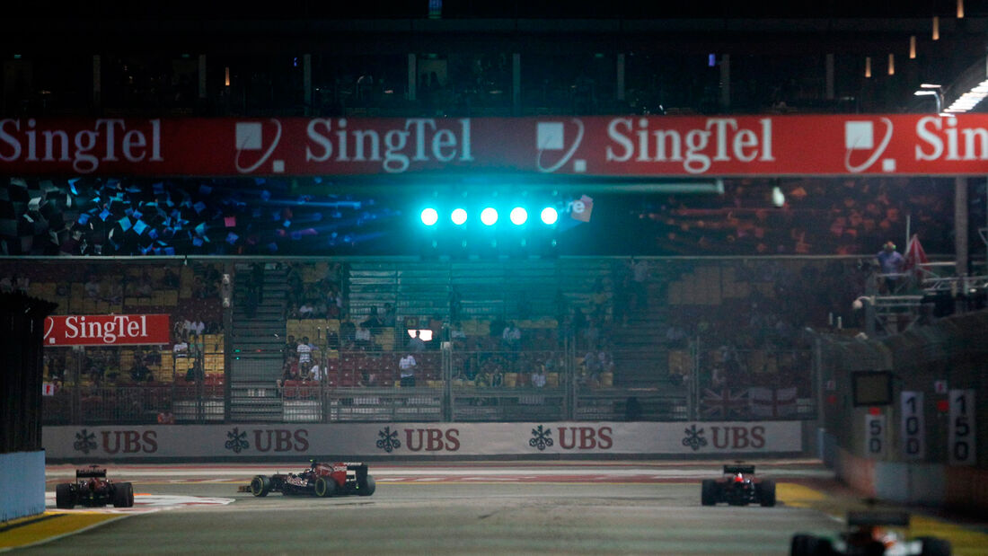 GP Singapur 2012 Training