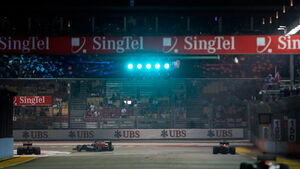 GP Singapur 2012 Training