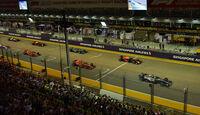 GP Singapur 2018 - Start