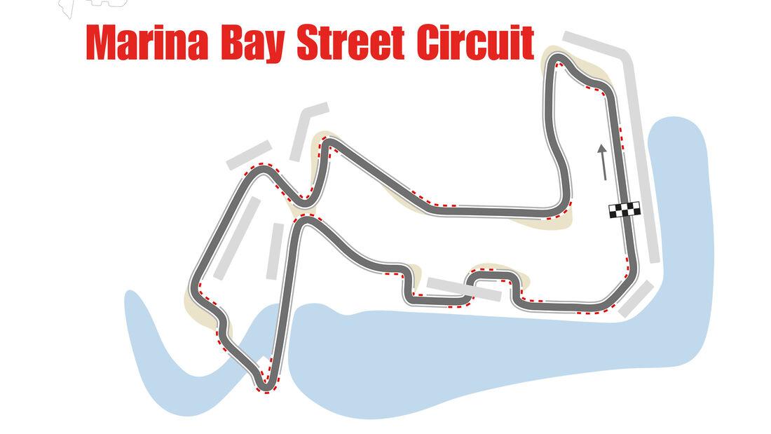 GP Singapur - Formel 1