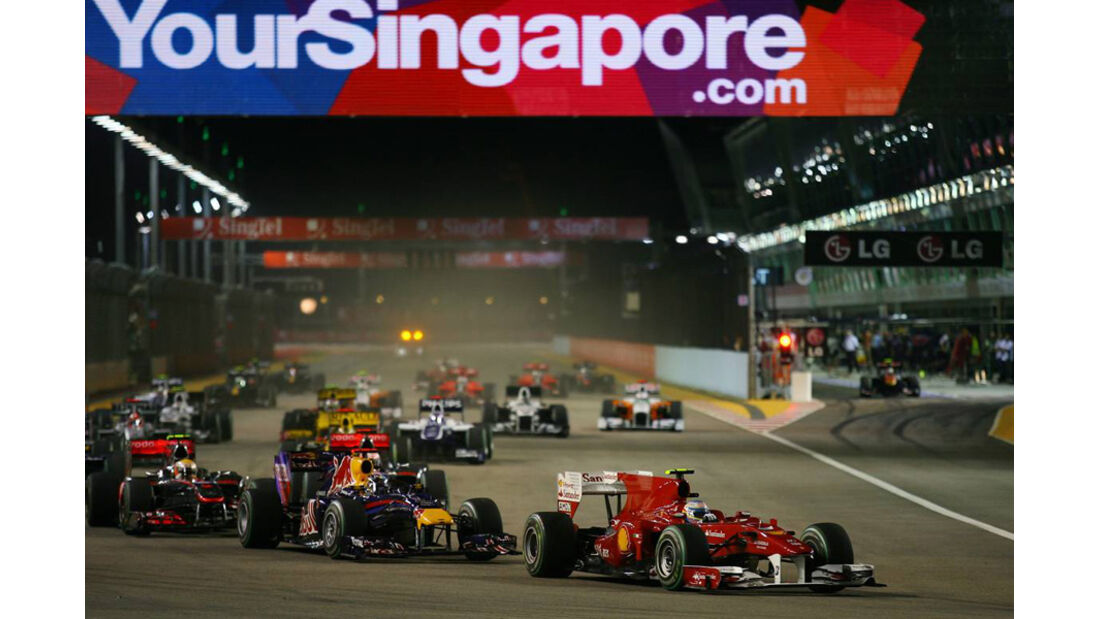 GP Singapur Start