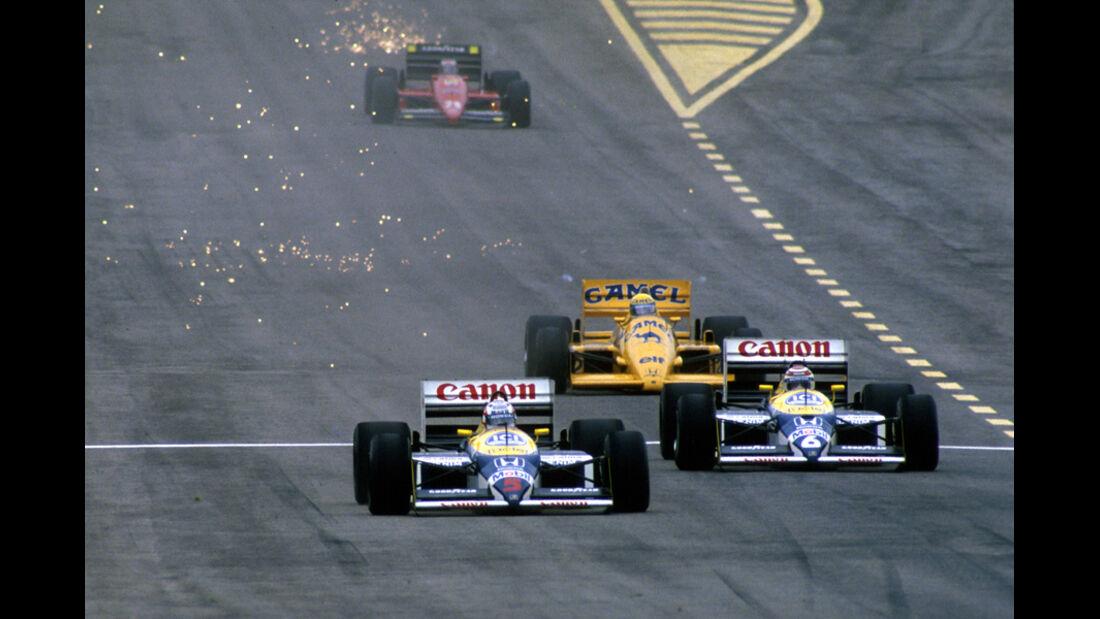 GP Spanien 1987 Nigel Mansell