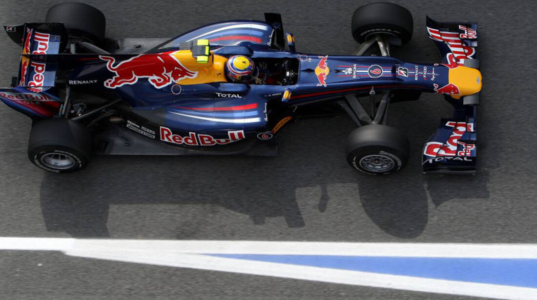 GP Spanien 2010 Training