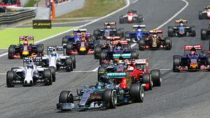 GP Spanien 2015 - Start - Barcelona - Sonntag - 10.5.2015