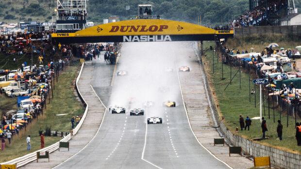 GP Südafrika 1981 - Kyalami - Formel 1