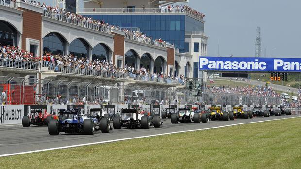GP Türkei - Start - 2010