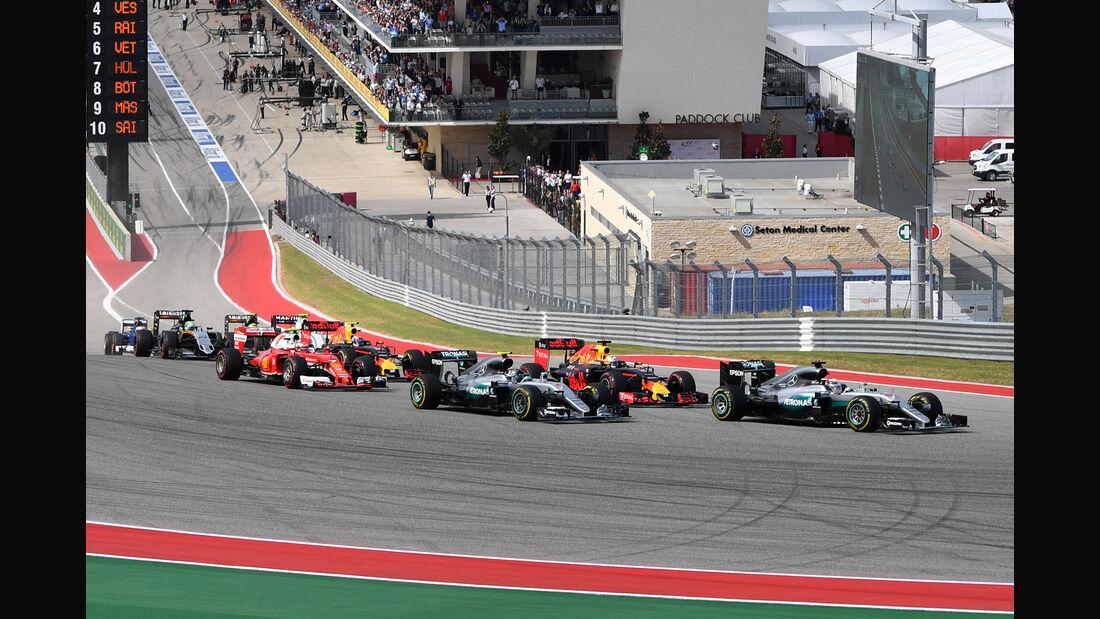 GP USA 2016 - Starts