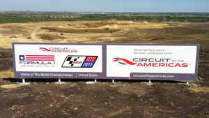 GP USA Austin Circuit of the Amercas Baustelle 2011