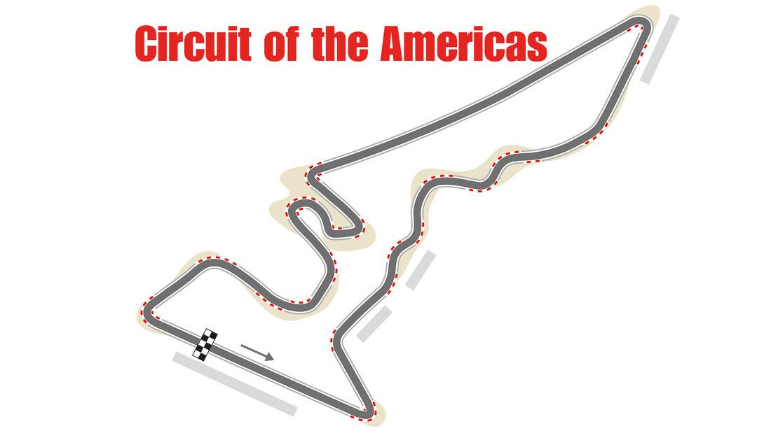 GP USA - Austin - Formel 1