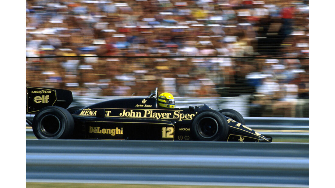 GP Ungarn 1986 Ayrton Senna