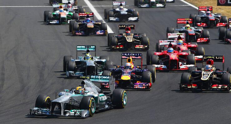 GP Ungarn 2013 Start