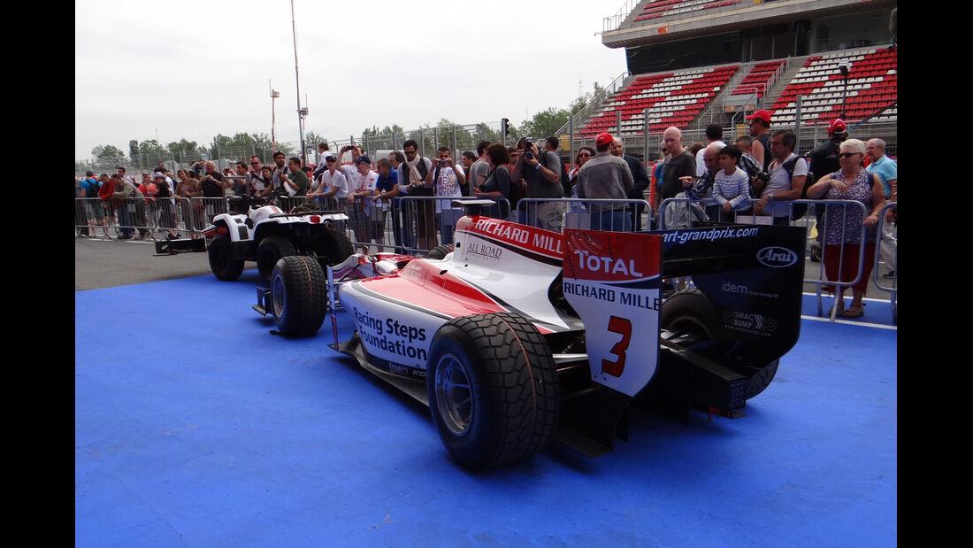 GP2-Abnahme - GP Spanien - 9. Mai 2013