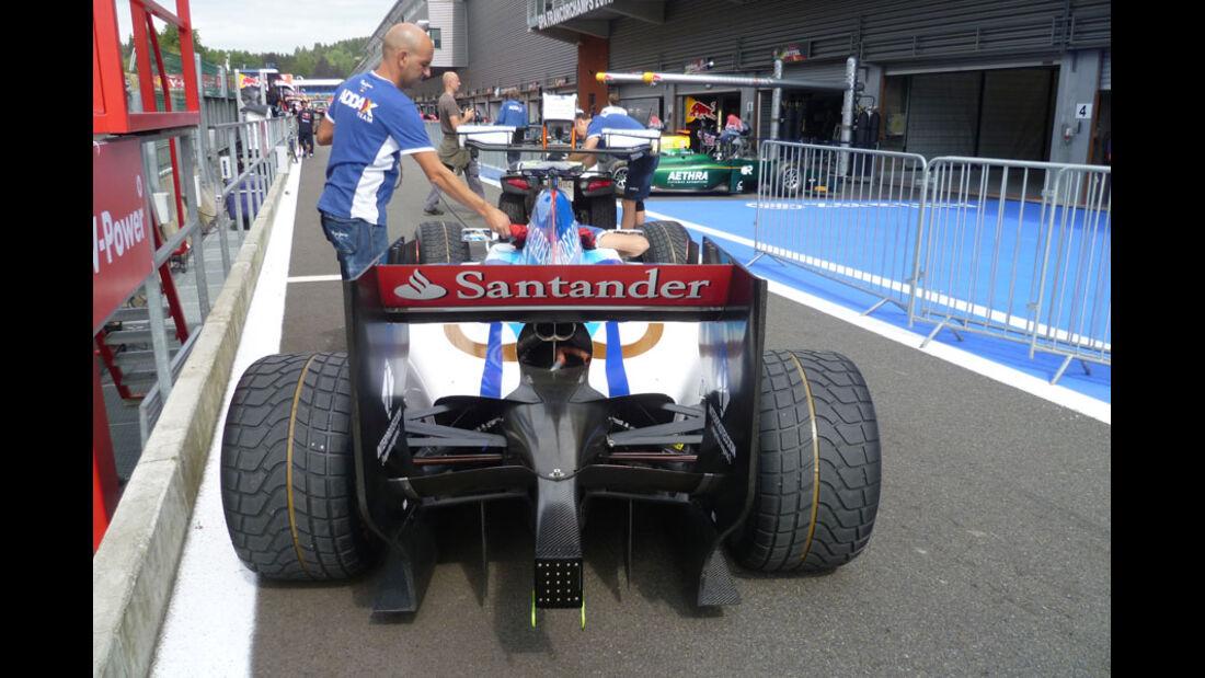 GP2 Auto - GP Belgien - 25. August 2012