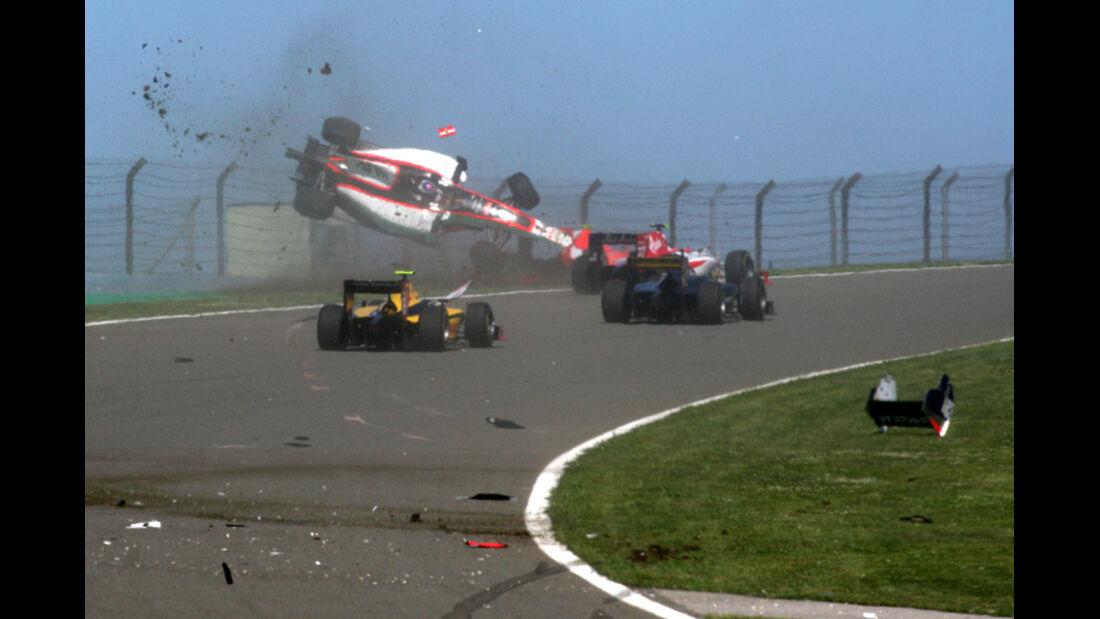 GP2-Crash GP Türkei 2011
