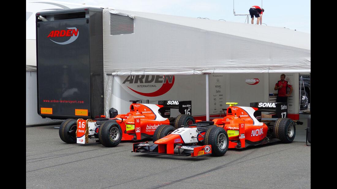 GP2-Fahrerlager - Formel 1 - GP Deutschland - Hockenheim - 16. Juli 2014