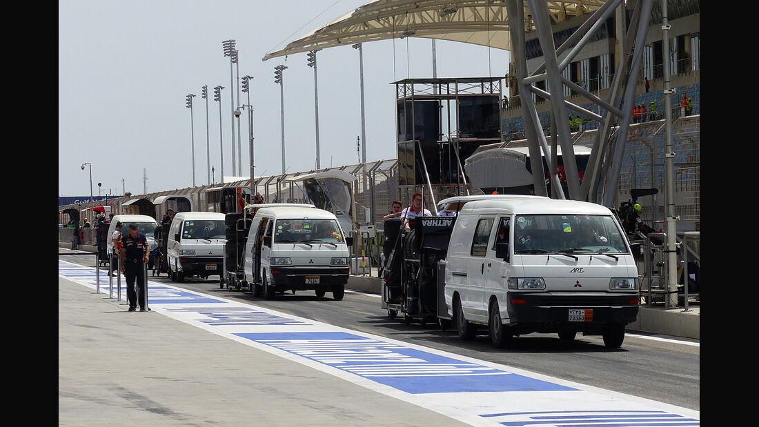 GP2 - Formel 1 - GP Bahrain - Sakhir - 4. April 2014