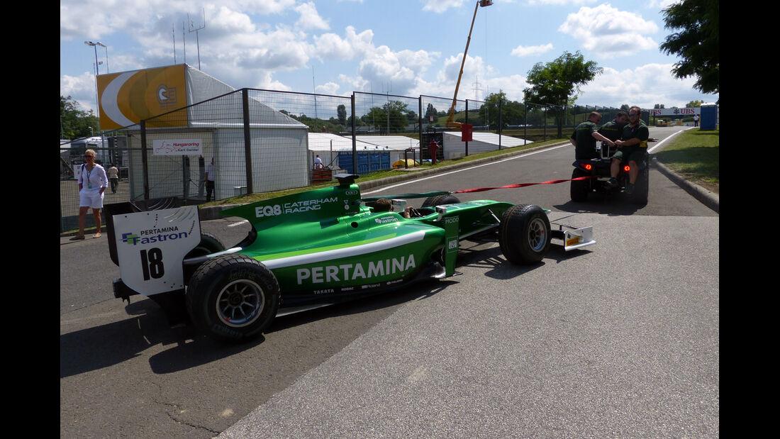 GP2 - Formel 1 - GP Ungarn - 24. Juli 2014