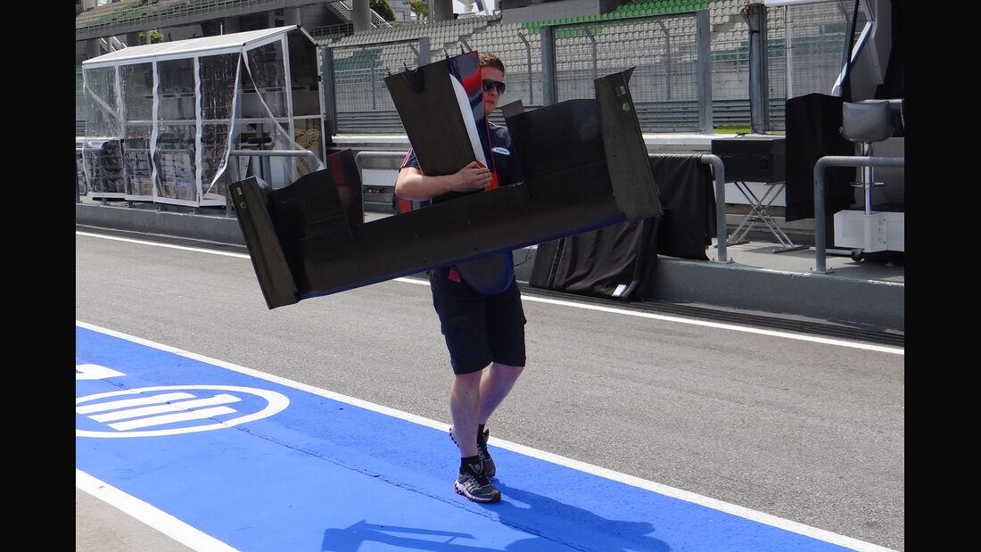 GP2-Frontflügel - GP Malaysia - 22. März 2012