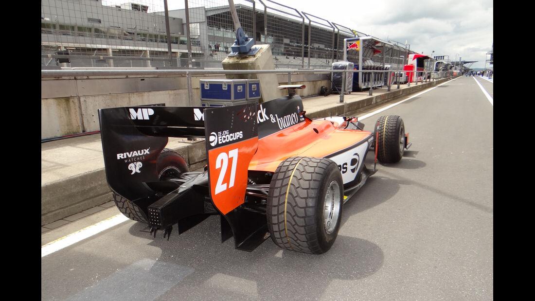 GP2-Renner - Formel 1 - GP Deutschland - 4. Juli 2013