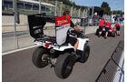 GP2-Scrutineering - GP Belgien - Spa-Francorchamps - 22. August 2013