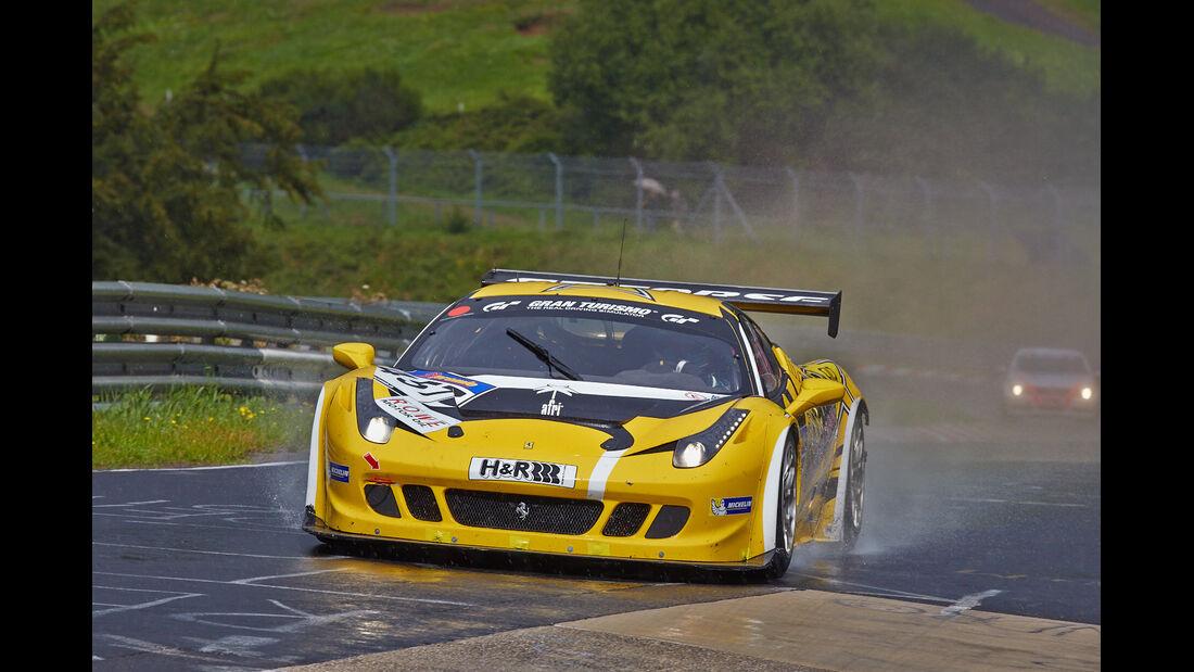 GT Corse by Rinaldi Ferrari 458  -VLN Nürburgring - 7. Lauf - 23. August 2014