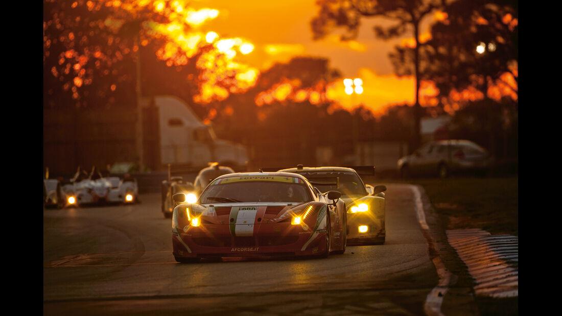 GT-Wagen, Ferrari, Corvette