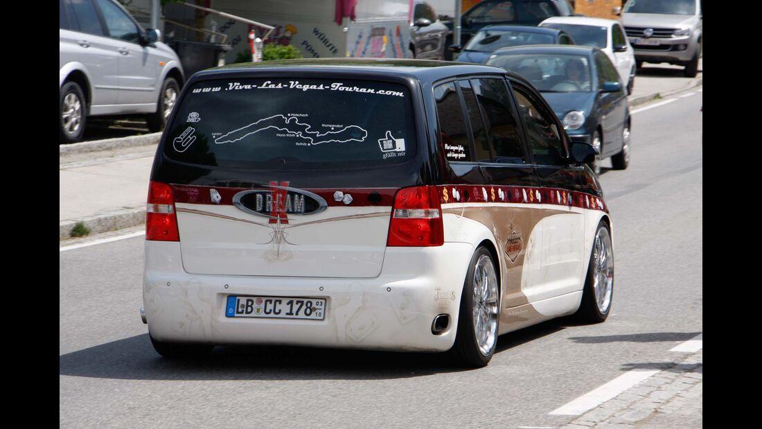 GTI Treffen Wörthersee, VW Touran, Las Vegas Edition