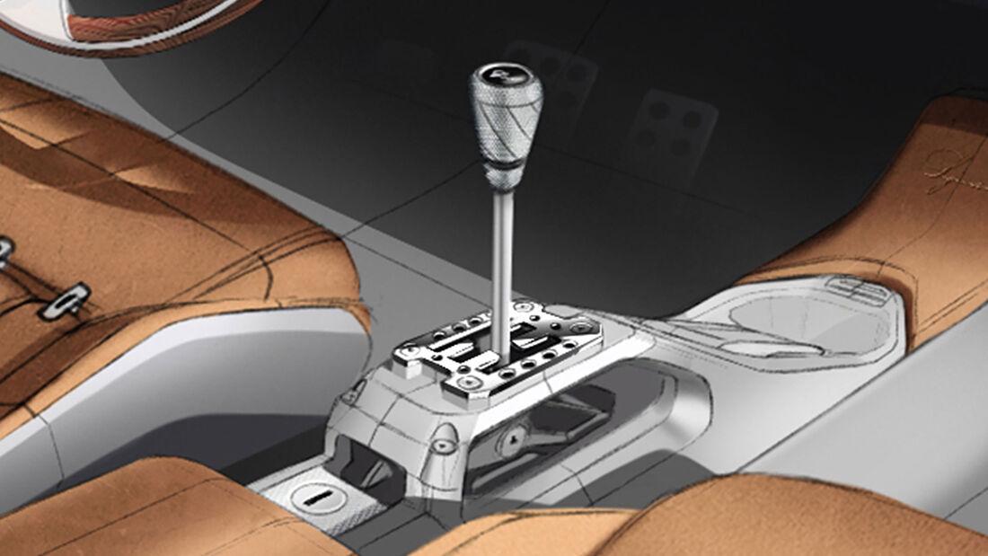 GTO Squalo Innenraum