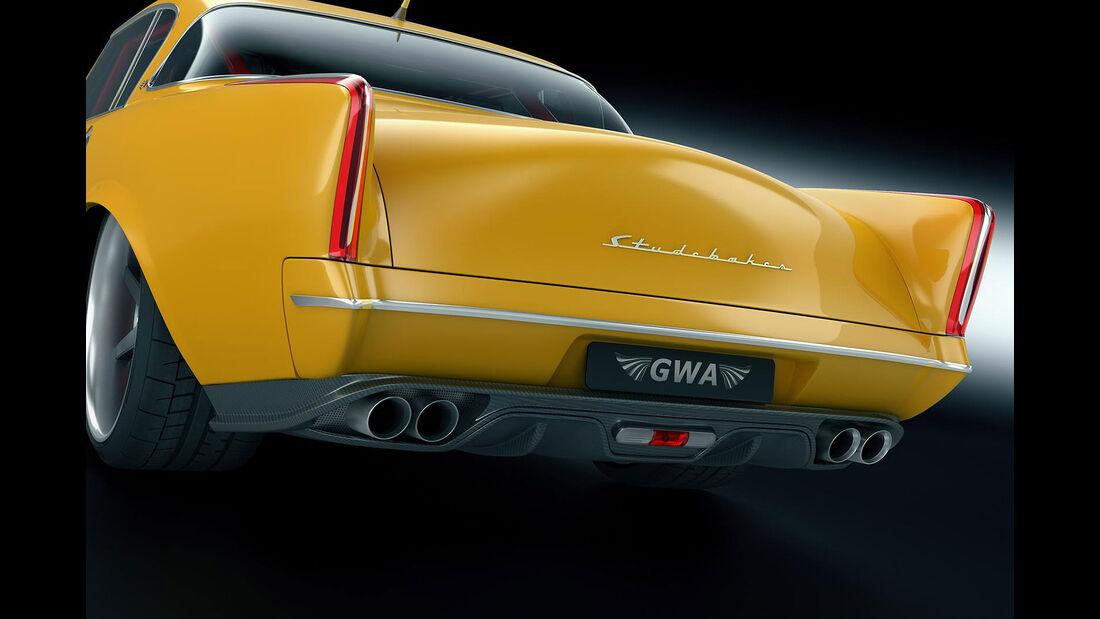 GWA Gullwing American Studebaker Carrera Tribute