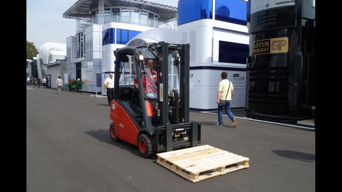 Gabelstapler - GP Italien - 8. September 2011