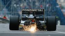 Gabriele Tarquini - Fondmetal-Ford GR01 - Formel 1 - 1992