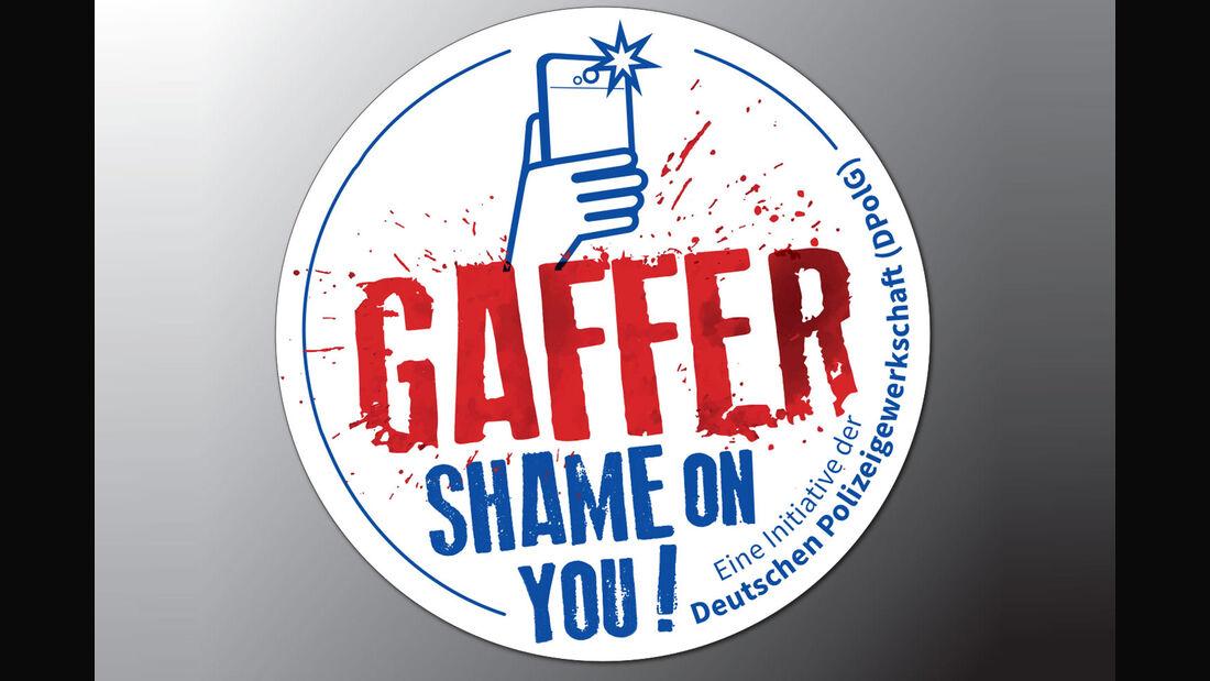 Gaffer-Aufkleber