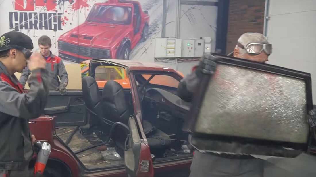 Garage 54 Lada Dampf-Samara