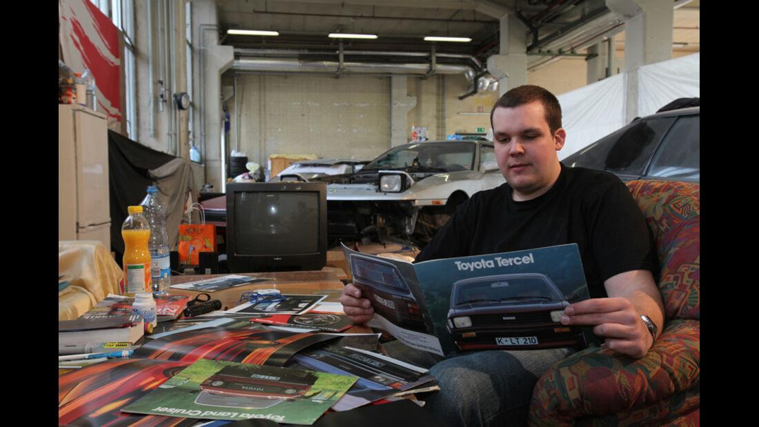 Garagen-Porträt Martin Rammler