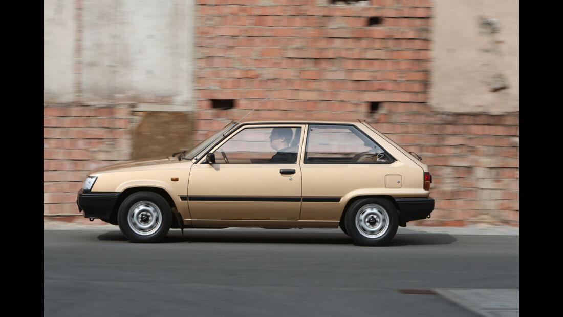 Garagen-Porträt Toyota Tercel